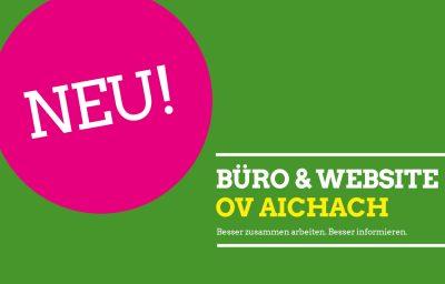 OV Aichach hat neues Büro und neue Website