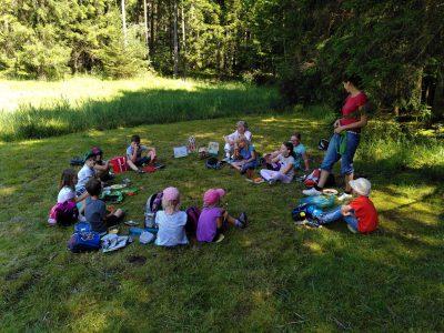 Picknick am Silberbrünnl